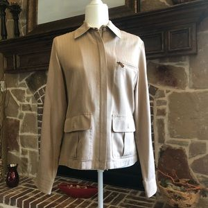 Tan jacket from Ralph Lauren
